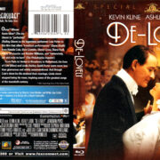DE-LOVELY (2004) R1 BLU-RAY COVER & LABEL