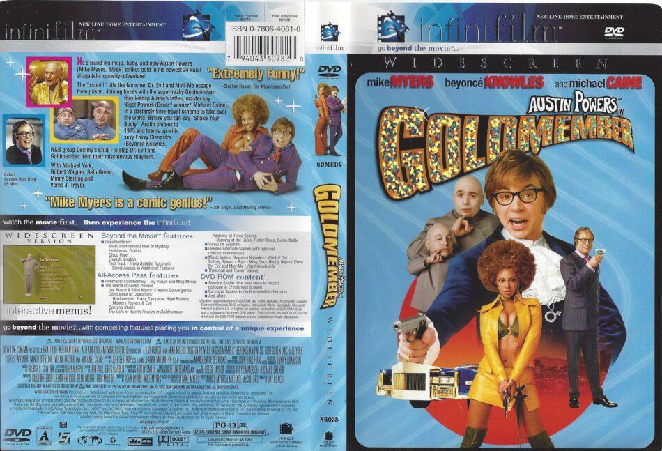 Goldmember 2002 R1 Dvd Cover Dvdcover Com