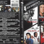 4 Film Favorites Lethal Weapon (2007) R1 DVD Cover