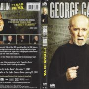 George Carlin It's Bad For Ya (2008) R1 DVD Cover
