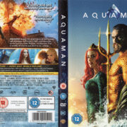 Aquaman (2018) R2 DVD Cover & label