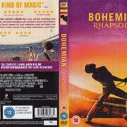Bohemian Rhapsody (2018) R2 DVD Cover & Label