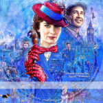 Mary Poppins Returns (2018) R1 Custom Label