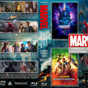 The Marvel Cinematic Universe Collection - Volume 5 R1 Custom Blu-Ray Cover
