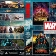 The Marvel Cinematic Universe Collection - Volume 6 R1 Custom Blu-Ray Cover