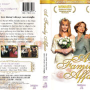 A FAMILY AFFAIR (2003) R1 DVD COVER & LABEL