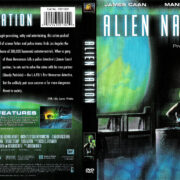 ALIEN NATION (1988) R1 DVD COVER & LABEL