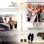 AND THEN CAME SUMMER (2001) R1 DVD COVER & LABEL