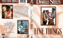 DANIELLE STEEL'S FINE THINGS (1990) R1 DVD COVER & LABEL