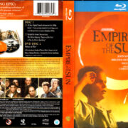 EMPIRE OF THE SUN DIGIBOOK (1987) R1 BLU-RAY COVER & LABEL