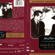 THE BISHOP'S WIFE (1947) R1 DVD COVER & LABEL