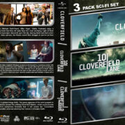 Cloverfield Triple Feature R1 Custom Blu-Ray Cover