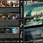 Cloverfield Triple Feature R1 Custom DVD Cover