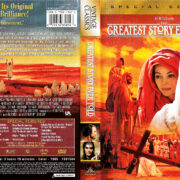 THE GREATEST STORY EVER TOLD (1965) R1 SE DVD COVER & LABELS
