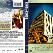 KING OF KINGS (1961) R1 DVD COVER & LABEL