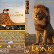 The Lion King (2019) R0 Custom DVD COVER