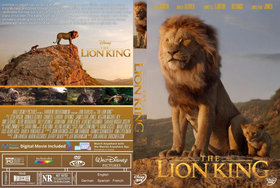 The Lion King 2019 R0 Custom Dvd Cover Dvdcovercom