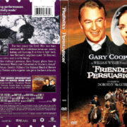 FRIENDLY PERSUASSION (1956) R1 DVD COVER & LABEL