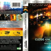 CLOSE ENCOUNTERS OF THE THIRD KIND 40TH AE (1977) R1 4K UHD COVER & LABELS