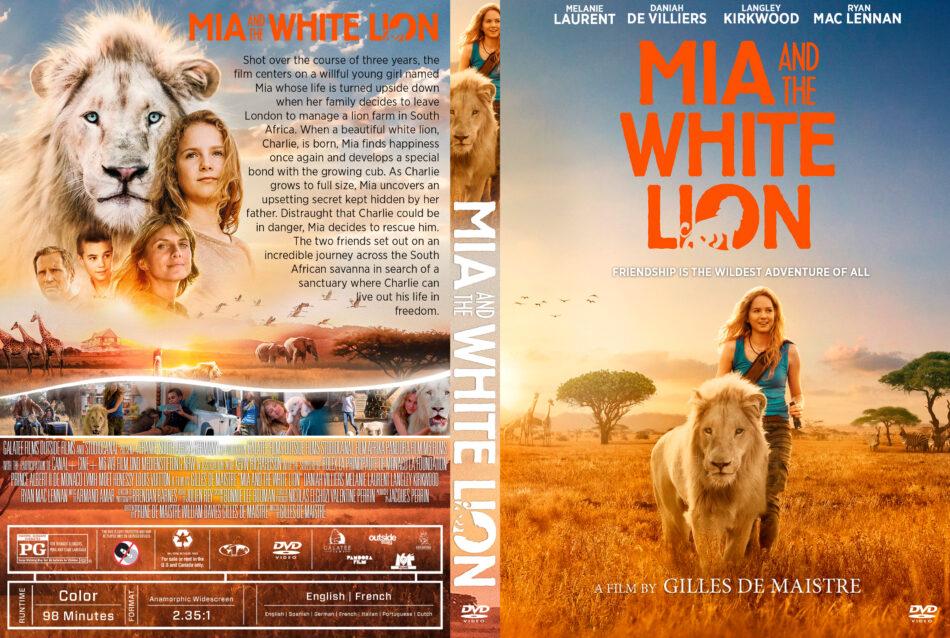 Mia And The White Lion 2018 R1 Custom Dvd Cover Dvdcover Com