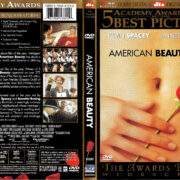 AMERICAN BEAUTY THE AWARDS EDITION (2000) R1 DVD COVER & LABEL