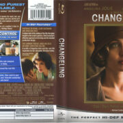 Changeling (2008) R1 Blu-Ray Cover & Label