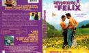 ADVENTURES OF FELIX (2001) R1 DVD COVER & LABEL