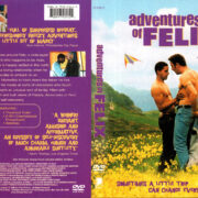 ADVENTURES OF FELIX (2001) R1 DVD COVER & LABEL
