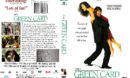 GREEN CARD (1990) R1 DVD COVER & LABEL