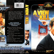 A VIEW TO A KILL (1985) SE R1 DVD COVER & LABEL