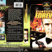 DIAMONDS ARE FOREVER (1971) SE R1 DVD COVER & LABEL