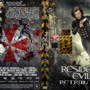Resident Evil - Retribution (2012) R2 german DVD Cover