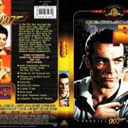 DR. NO (1962) R1 SE DVD COVER & LABEL