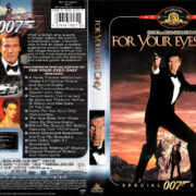 FOR YOUR EYES ONLY (1981) R1 SE DVD COVER & LABEL