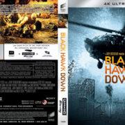 Black Hawk Down (2001) R2 GERMAN Custom 4K UHD COVERS & Labels