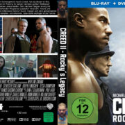 Creed II (2018) R2 German Custom Blu-Ray Cover