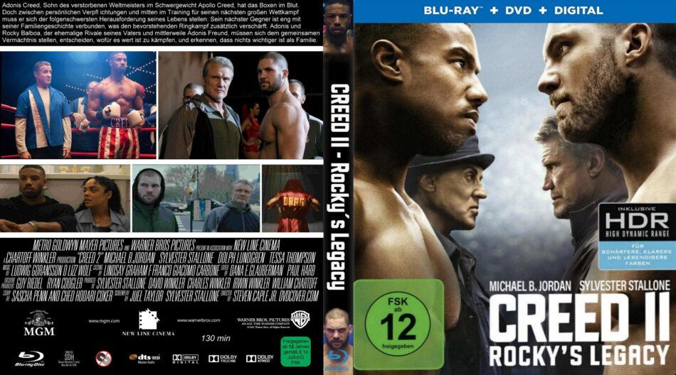 Creed 2 dvd