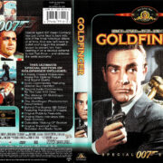 GOLDFINGER (1964) R1 SE DVD COVER & Label