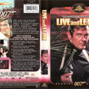 LIVE AND LET DIE (1973) R1 SE DVD COVER & LABEL
