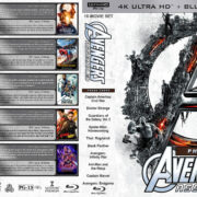 Avengers Assembled - Phase Three (10) R1 Custom 4K UHD COVER