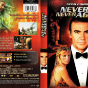 NEVER SAY NEVER AGAIN (1983) R1 DVD COVER & LABEL