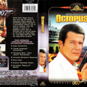 OCTOPUSSY (1983) R1 SE DVD COVER & LABEL