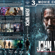 John Wick Collection R1 Custom Blu-Ray Cover