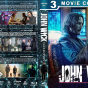 John Wick Collection R1 Custom Blu-Ray Cover V3
