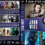 John Wick Triple Feature R1 Custom Blu-Ray Cover