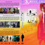 John Wick Collection R1 Custom DVD Cover V2