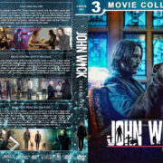 John Wick Collection R1 Custom DVD Cover V3