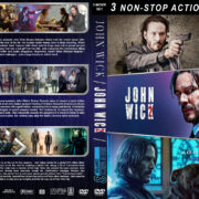 John Wick Triple Feature R1 Custom DVD Cover