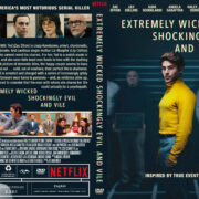 Extremely Wicked, Shockingly Evil and Vile (2019) R1 Custom DVD Cover
