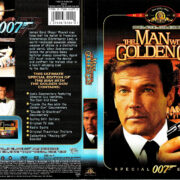 THE MAN WITH THE GOLDEN GUN (1974) R1 SE DVD COVER & LABEL